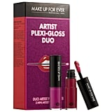 Make Up For Ever Artist Plexi-Gloss Duo