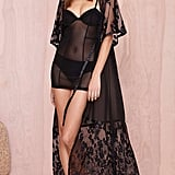Skivvies by For Love and Lemons Anastasia Robe ($220)
