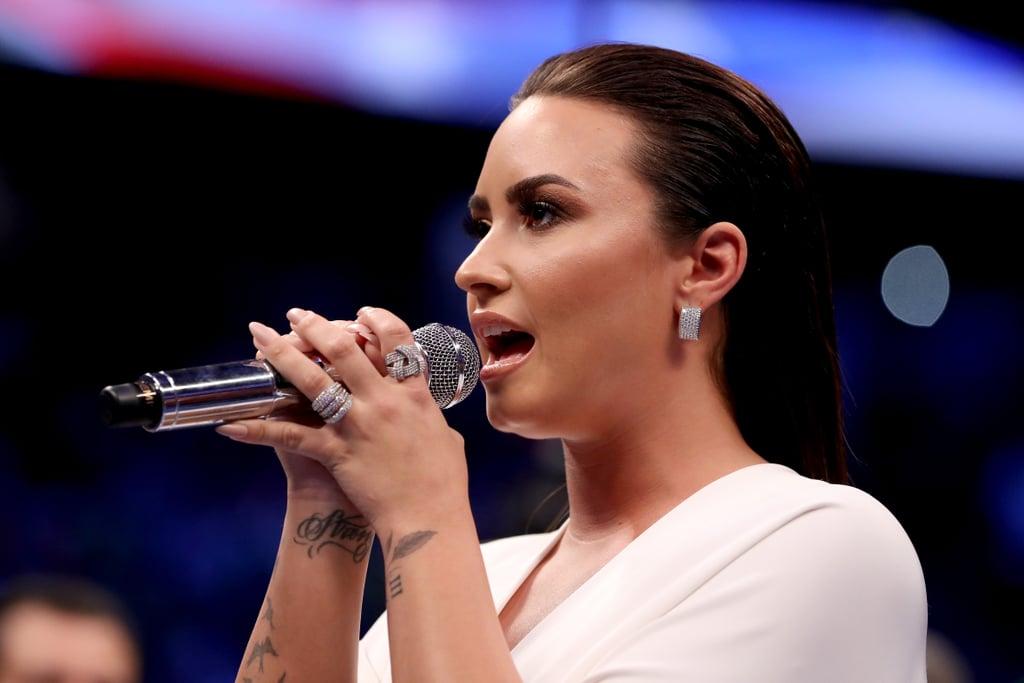 Demi Lovato Announced as Super Bowl National Anthem Singer