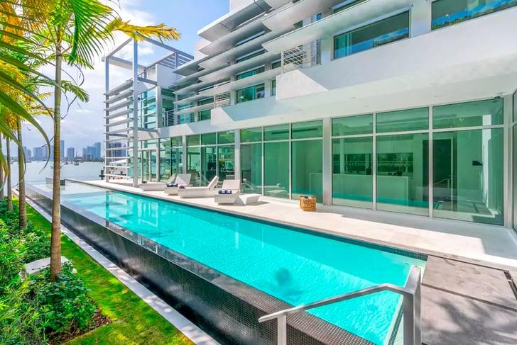 Kylie Jenner Miami Airbnb 2016 Popsugar Home Photo 1