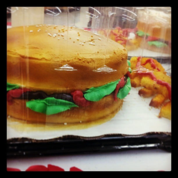 This Burger Cake is Such a Masterpiece