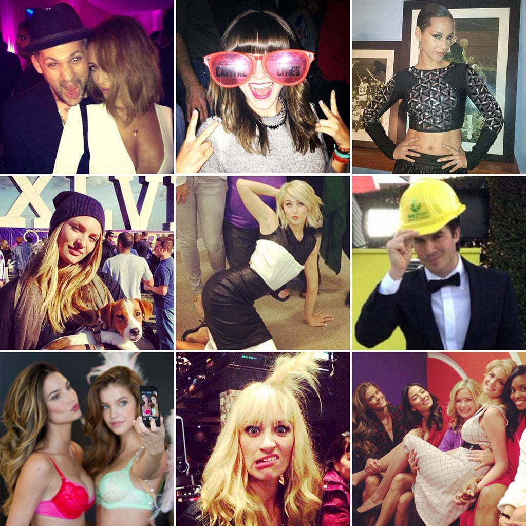 Best Celebrity Instagram Pictures February 2013