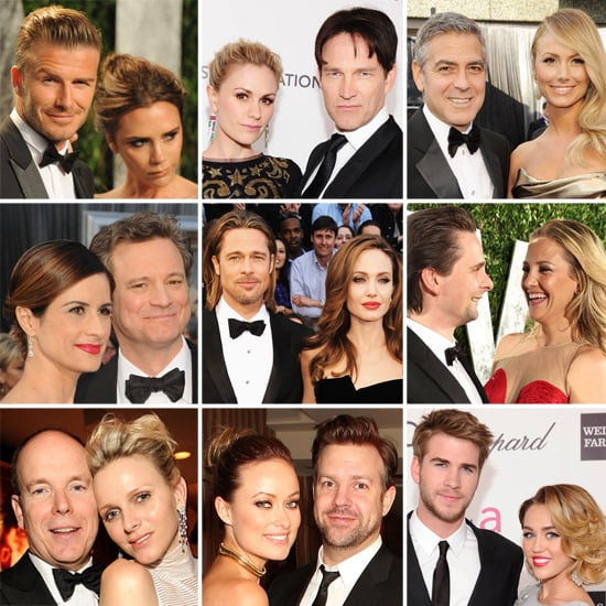 Oscar Couples Shine at the Big Show and Parties