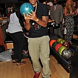 Ludacris had impressive form at the Bowling For a Cause event in Atlanta on Thursday.