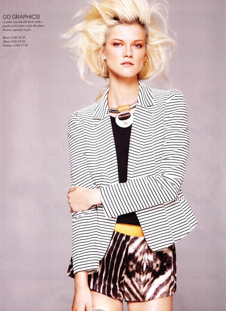 Inside H&M Spring Magazine: See Kasia Strauss Working This ...