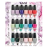 The NYX Beauty Love Is in the Air Collection ($20) is some major bang for your buck. With 18 different polishes included, that comes out to just over a dollar per bottle. Score!