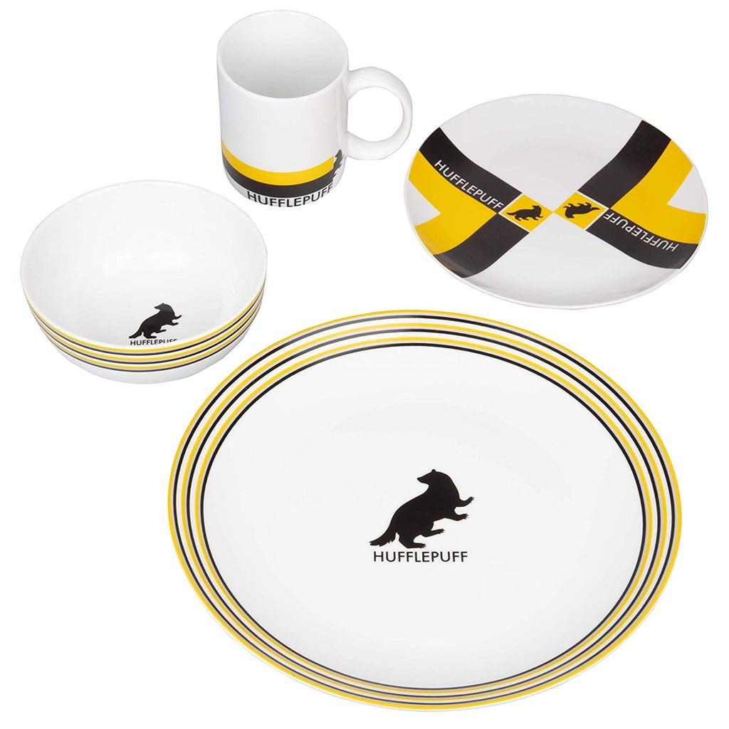 Harry Potter Hogwarts House Porcelain 16-Piece Dinnerware Set ($70)
