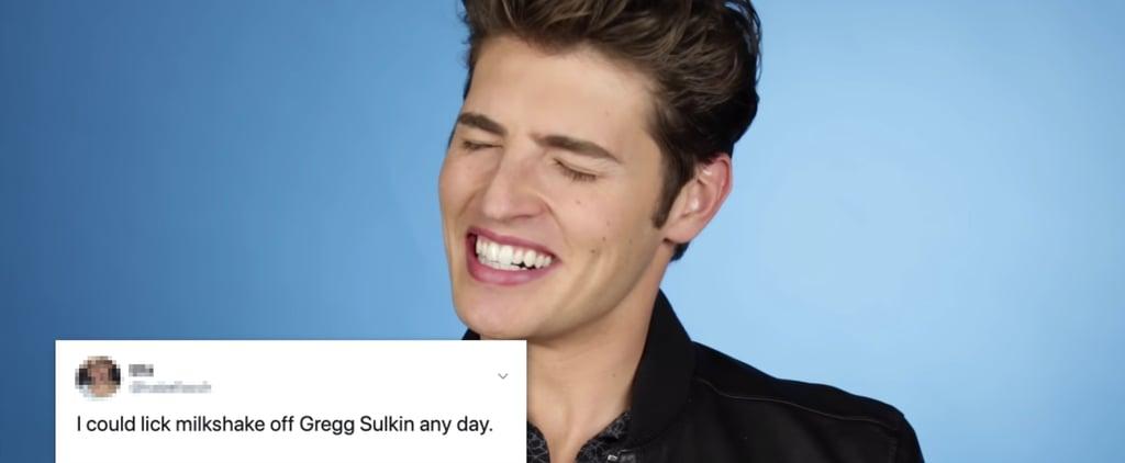 Watch Gregg Sulkin Read Thirsty Tweets About Himself