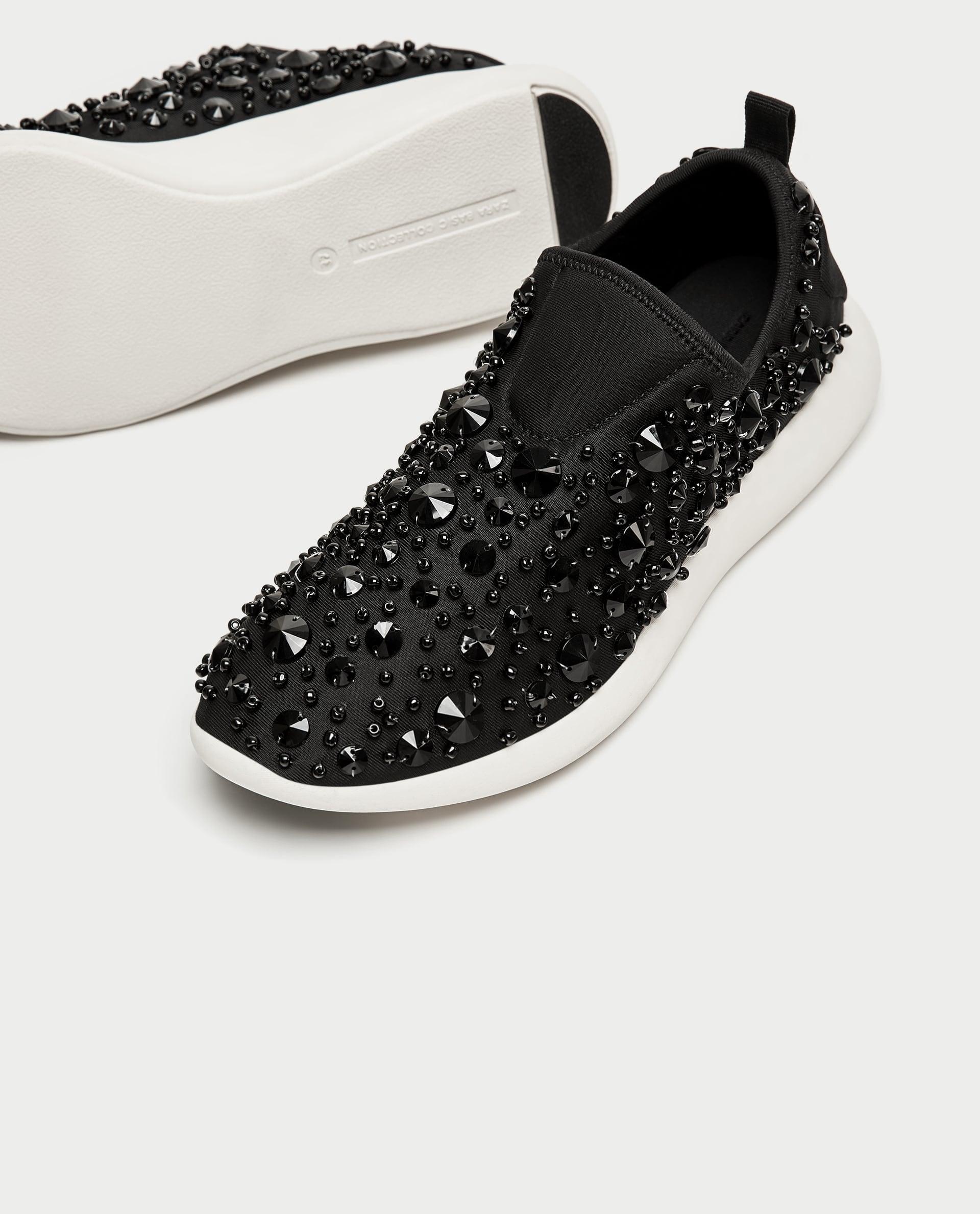 Zara Beaded Sneakers   Princess