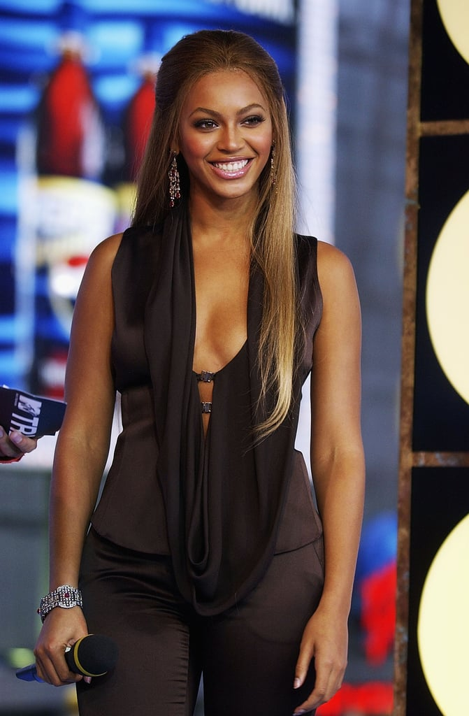 Beyoncé Knowles appeared on TRL in 2003.