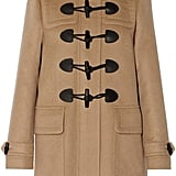Burberry Hooded Wool-Felt Duffle Coat ($995)
