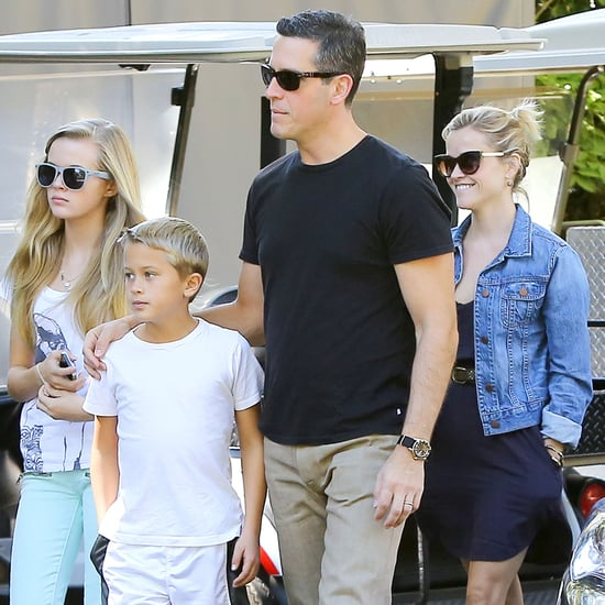 Reese Witherspoon With Deacon, Ava, and Jim Toth | Pictures