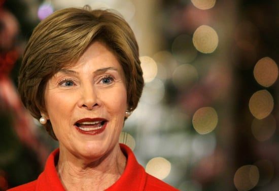 Laura Bush Prepares to Return to the Kitchen