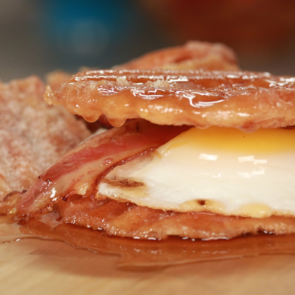 Doughnut-Chip Breakfast Sandwich