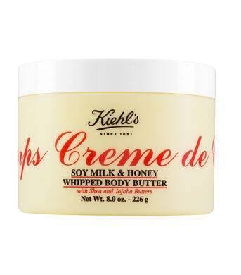 Kiehl's Creme de Corps Soy Milk & Honey Whipped Body Butter