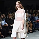 Calvin Klein Collection was sheer perfection in more ways than one! Source: Instagram user nytimesfashion