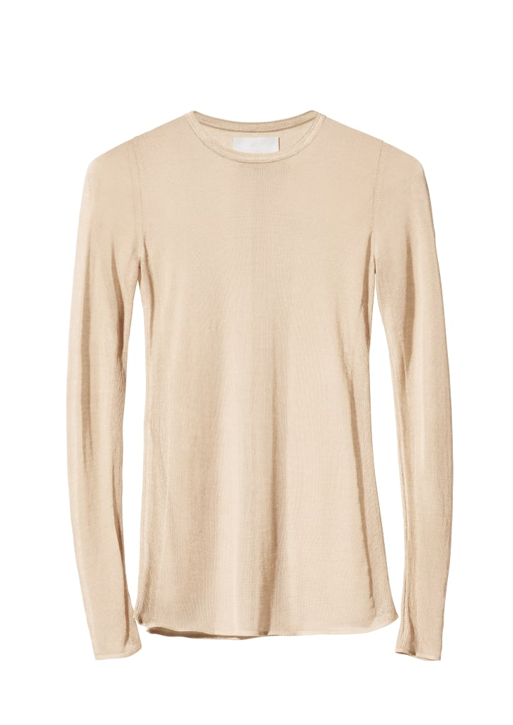 H&M Conscious Collection Fine-Knit Lyocell-Blend Top ($50)