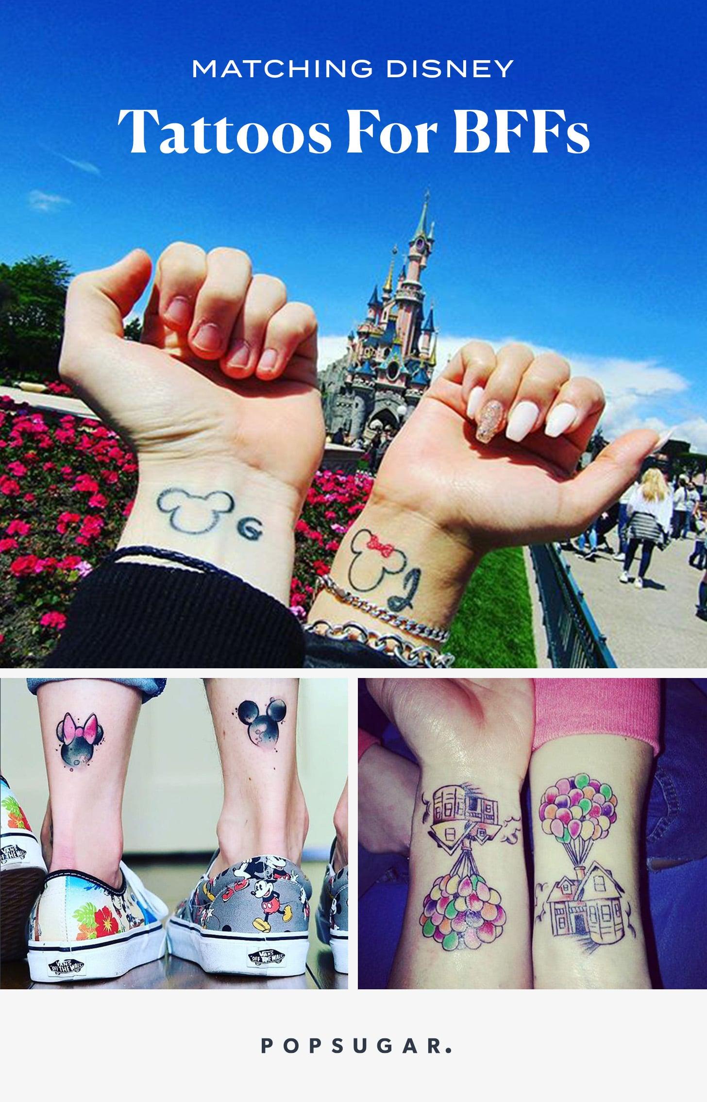 Matching Disney Tattoos For Bffs Popsugar Love Sex