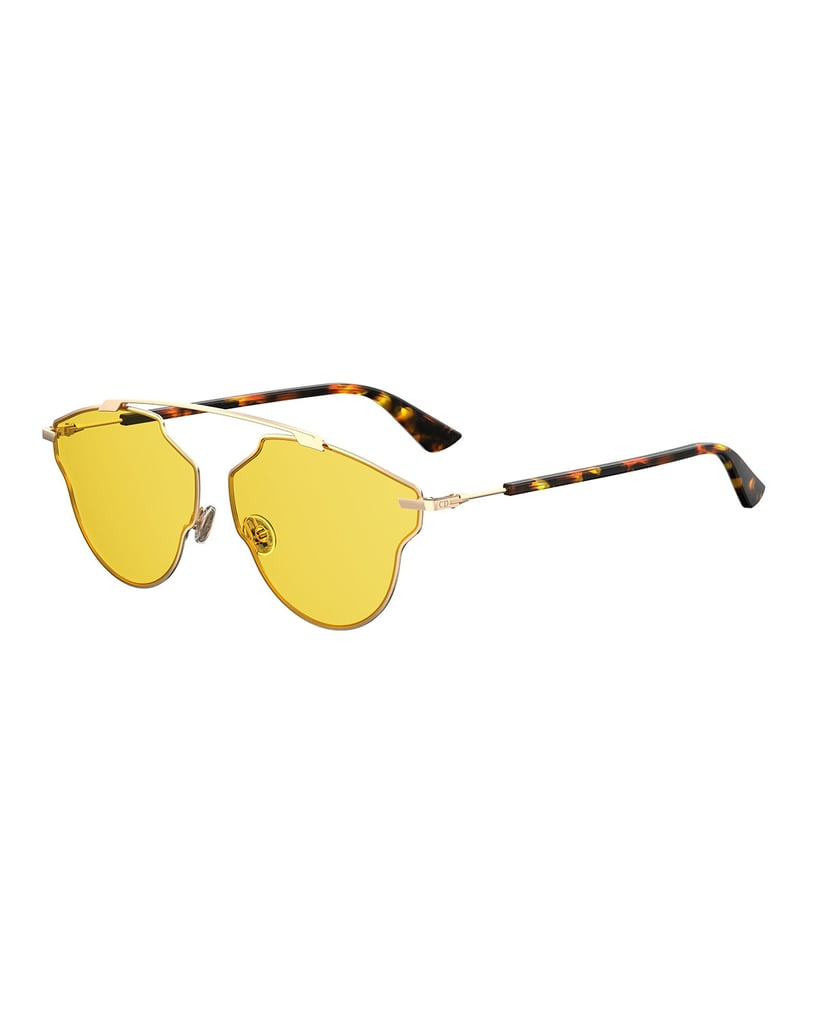 Yellow-lens sunglasses