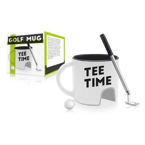 Tee Time Golf Mug