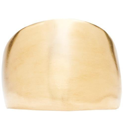 Helen Ficalora Big Gold Ring