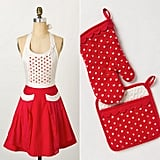 Polka-Dotted Apron