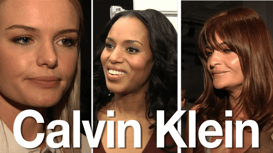 Celebs Dish on Calvin Klein Fall Collection: Kate Bosworth & More