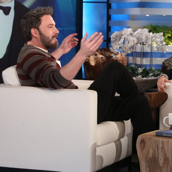 Ben Affleck Talking About Family on The Ellen Show Jan. 2017