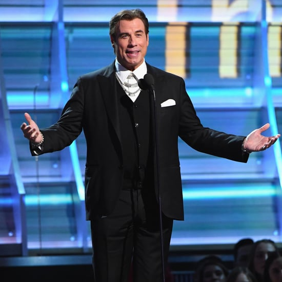 John Travolta Presenting at the 2017 Grammys