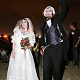 A married couple danced during the Vegoose music festival in Las Vegas.