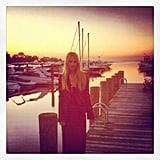 Rachel Zoe enjoyed a sunset in the Hamptons.  Source: Instagram user rachelzoe