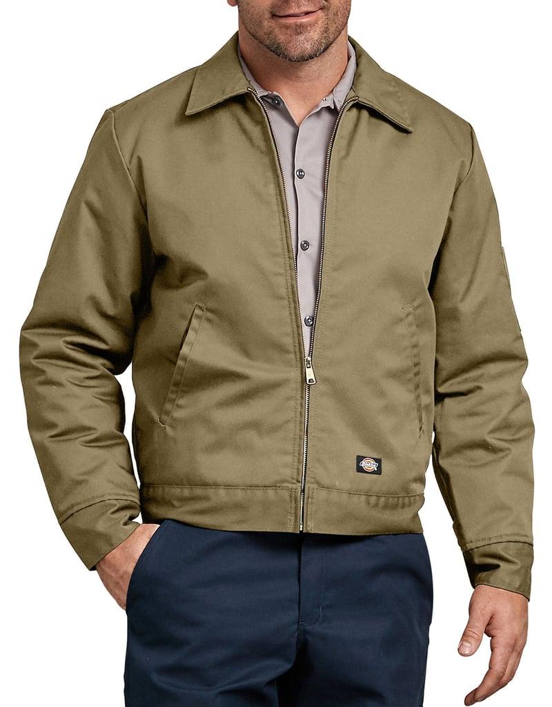 Dickies Lined Eisenhower Jacket in Khaki ($43)