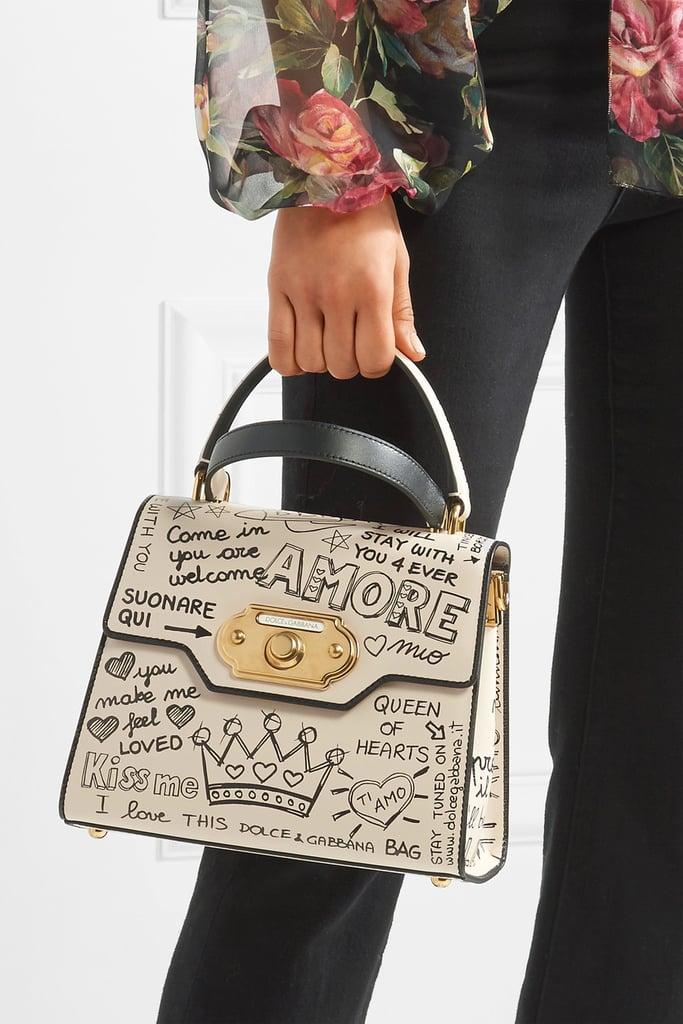 c8e407d5e61 Dolce   Gabbana Welcome Printed Tote