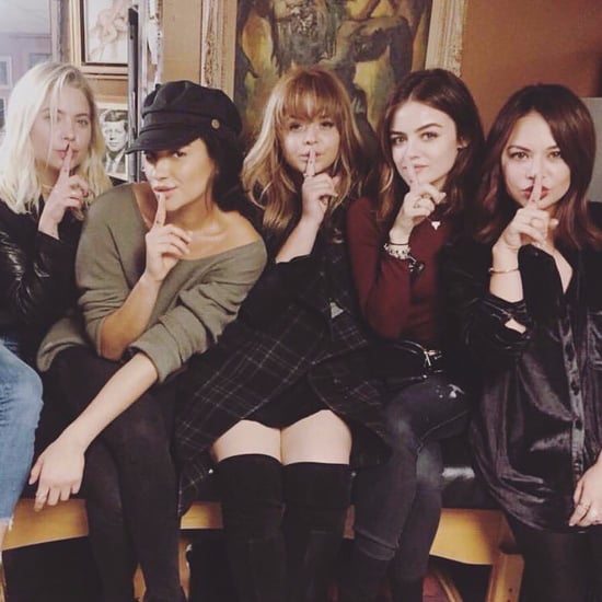 Pretty Little Liars Cast Finale Instagram Pictures
