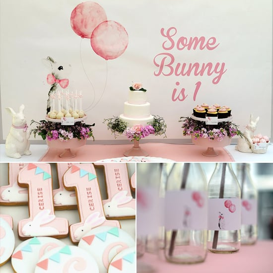 A Very Hoppy Birthday Party Creative First Birthday Party Ideas
