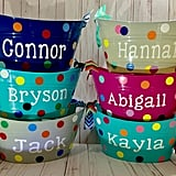 Personalized Easter Storage Bucket