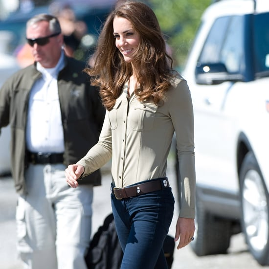Kate Middleton Wearing Jeans