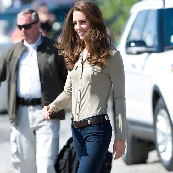 Kate Middleton Wearing Jeans
