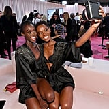Pictured: Subah Koj and Herieth Paul