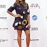 Jessica Mauboy in Dolce & Gabbana at the 2014 ARIA Awards