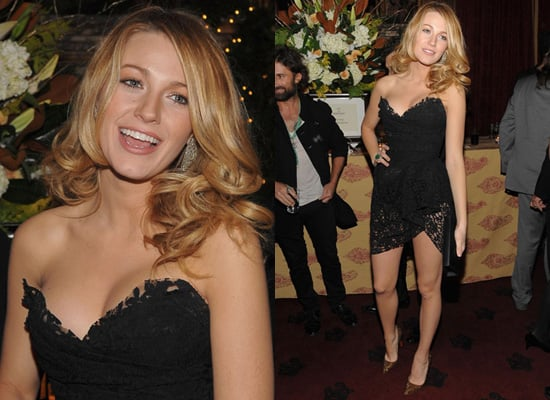 Photos of Blake Lively at the New York Premiere of Sherlock Holmes