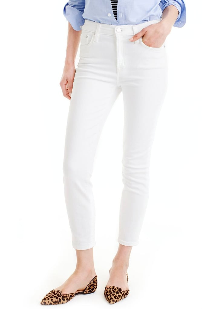 J.Crew Lookout High Waist Crop Jeans