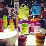 Zoli is introducing a new lunch line with stainless steel water bottles and food cups that hold up to 12 ounces of food. The line places the food upright, rather than flat like other systems.