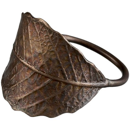 Crate & Barrel Leaf Napkin Ring ($2)