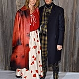 Laura Dern and Son Ellery Harper at Calvin Klein Show 2018