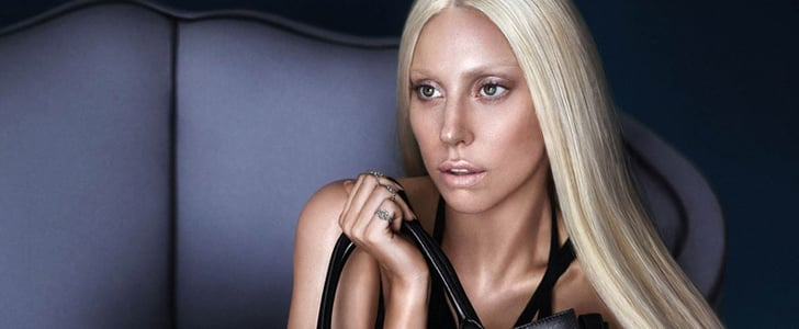 Lady Gaga Versace Ad Campaign Picture