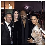 Kim and Kanye Hung Out With Cher and Marc Jacobs, Who Designed Cher's 2015 Dress