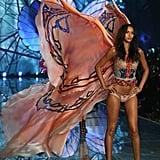 And in the 2015 Victoria's Secret Fashion Show. When she's not appearing in steamy magazine spreads, she's modeling for big campaigns for brands like DKNY.