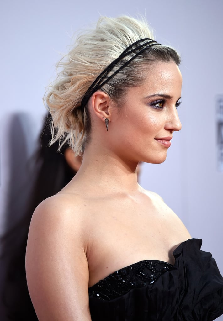 Dianna Agron How To Do Updos For Short Hair And Bobs