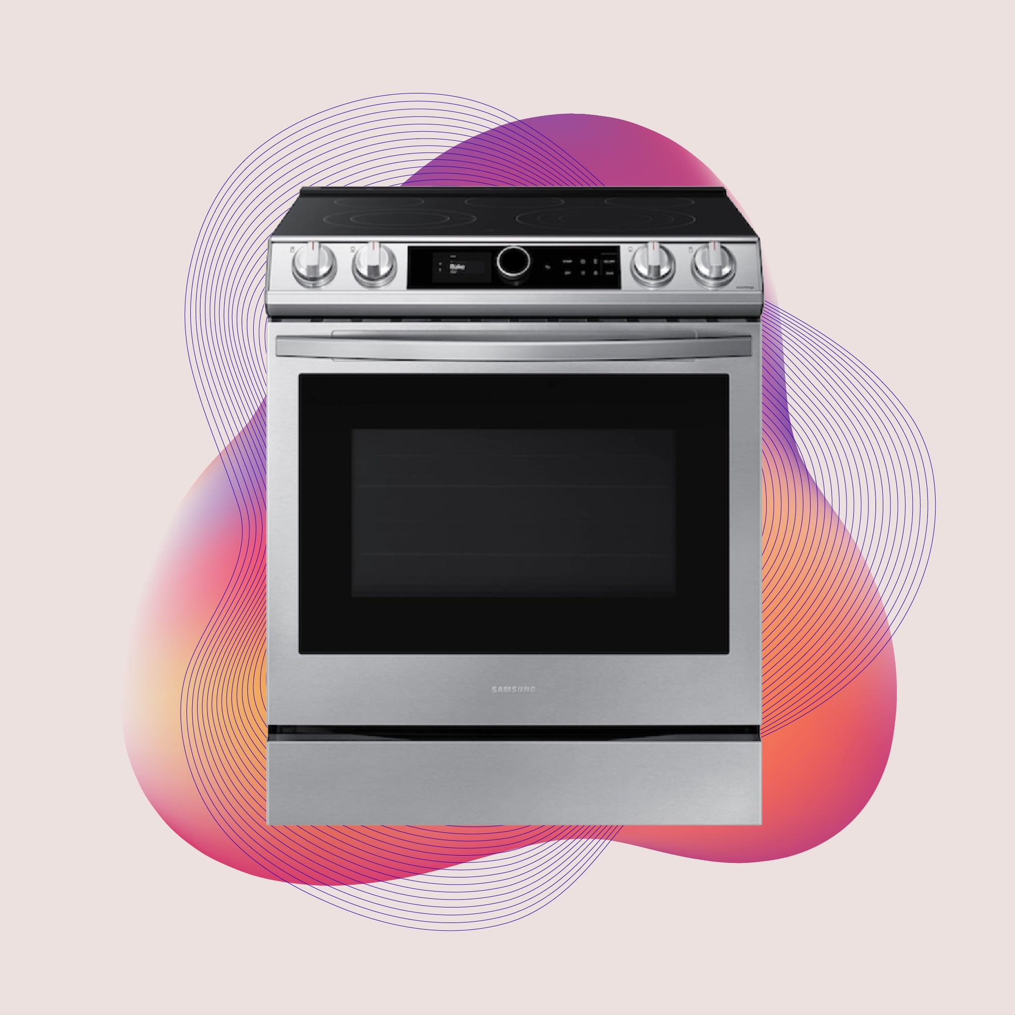 Slide-in Electric Range with Smart Dial, Air Fry, and Wi-Fi